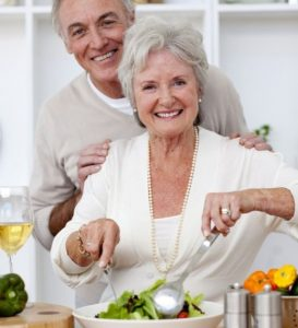 Nawodnienie i mikroelementów w diecie starszego