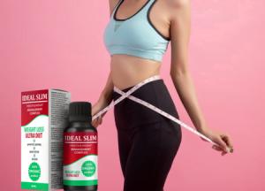 Ideal Slim krople, składniki, jak zażywać, jak to działa, skutki uboczne