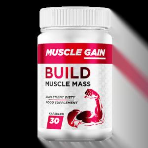 Muscle Gain kapsułki - opinie, cena, forum, składniki, gdzie kupić, allegro