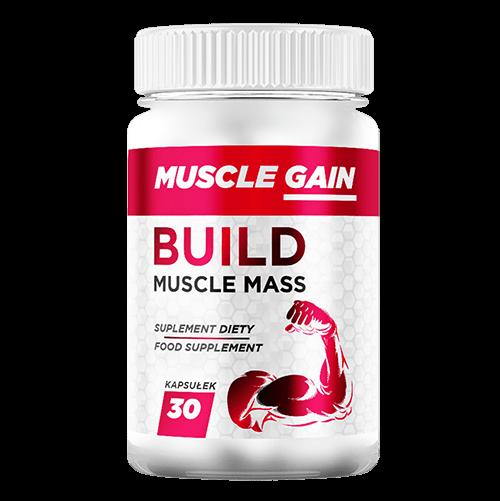 Muscle Gain kapsułki – opinie, cena, forum, składniki, gdzie kupić, allegro