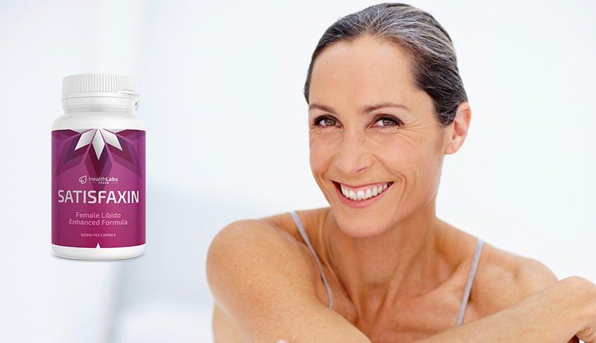 Satisfaxin kapsułki, składniki, jak zażywać, jak to działa, skutki uboczne