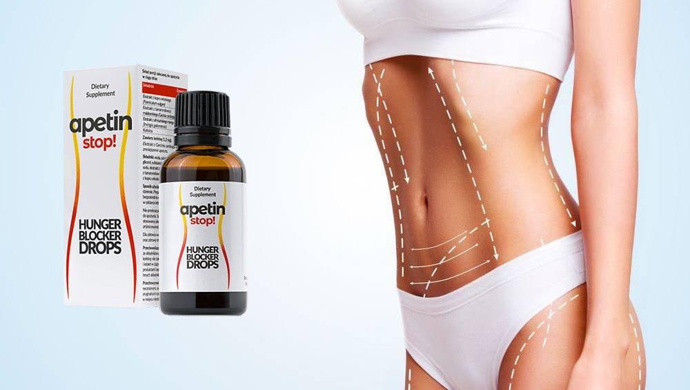 Apetin Stop krople, składniki, jak zażywać, jak to działa, skutki uboczne